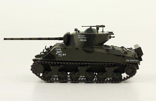 Char Sherman M4A3 (76MM) au 1/43 (Altaya/Ixo-PCT)