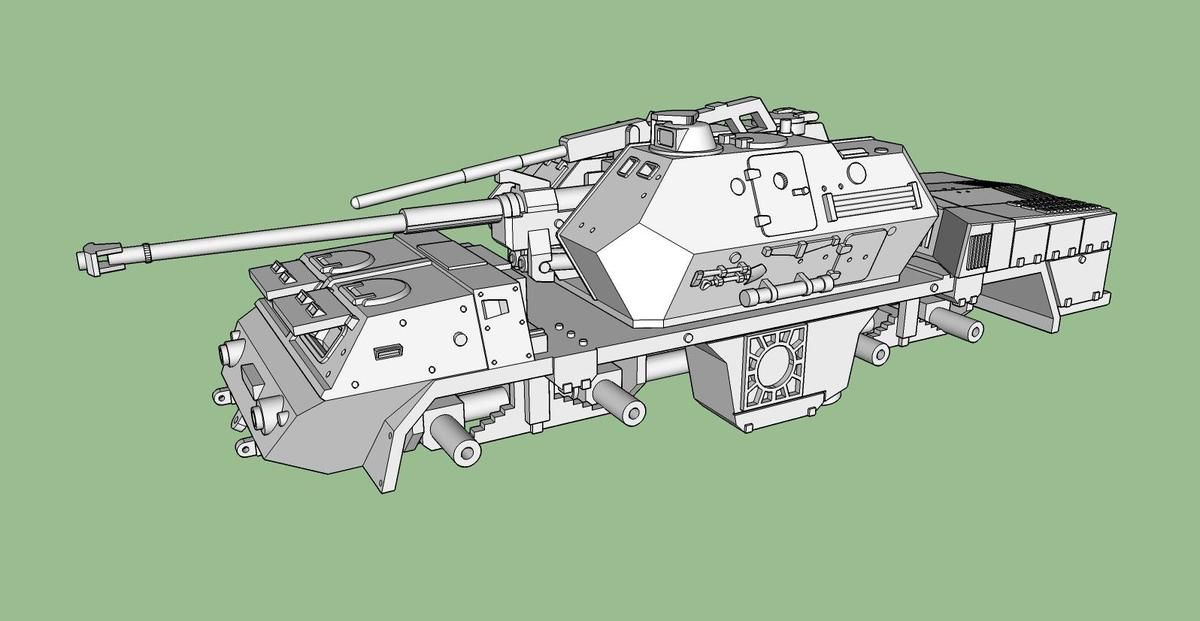 Obusier automoteur de 152 mm Dana au 1/48 (par Bob et Jean-Charles)