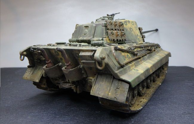 King Tiger tau 1/48 (par Marc H) - MAJ 8 avril 2019