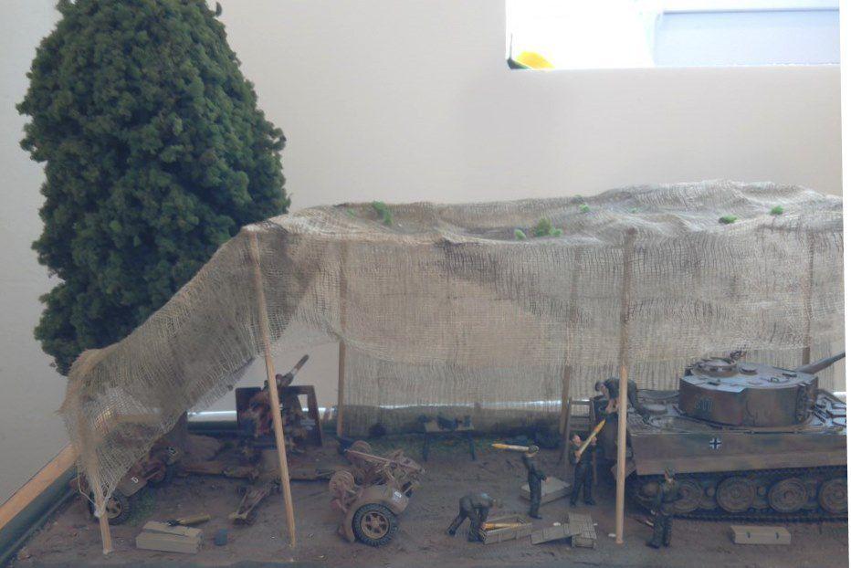 """Diorama : """"Atelier de maintenance"""" (par jean-François)"""