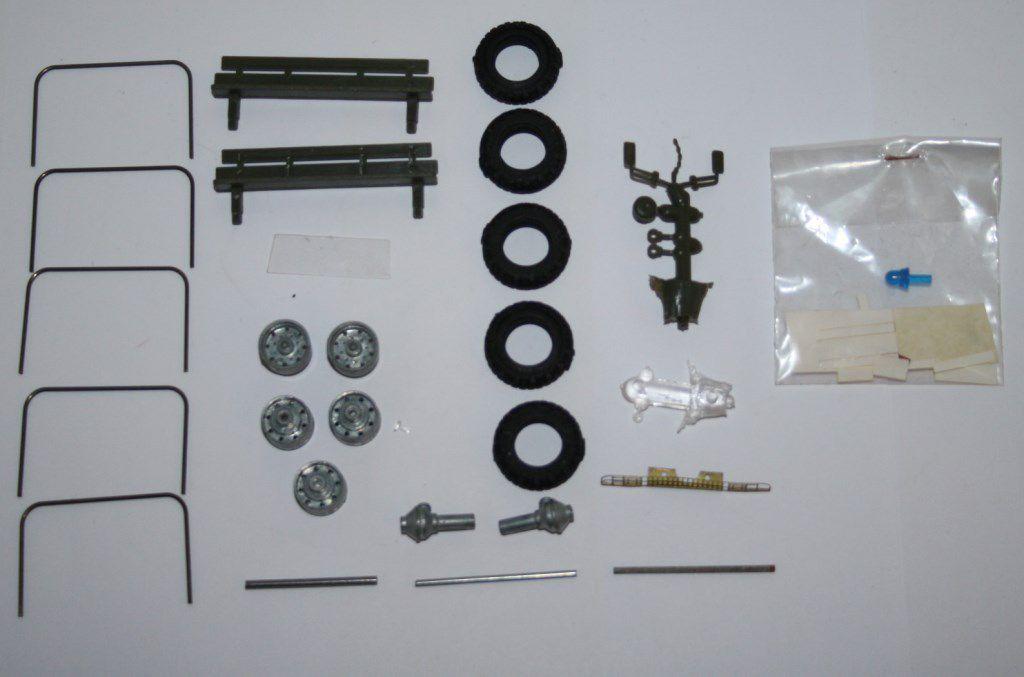 Collector : kit ACMAT VLRA 4x4 au 1/50  Cef-Replex pour Military Model Club (par Frédéric R.)