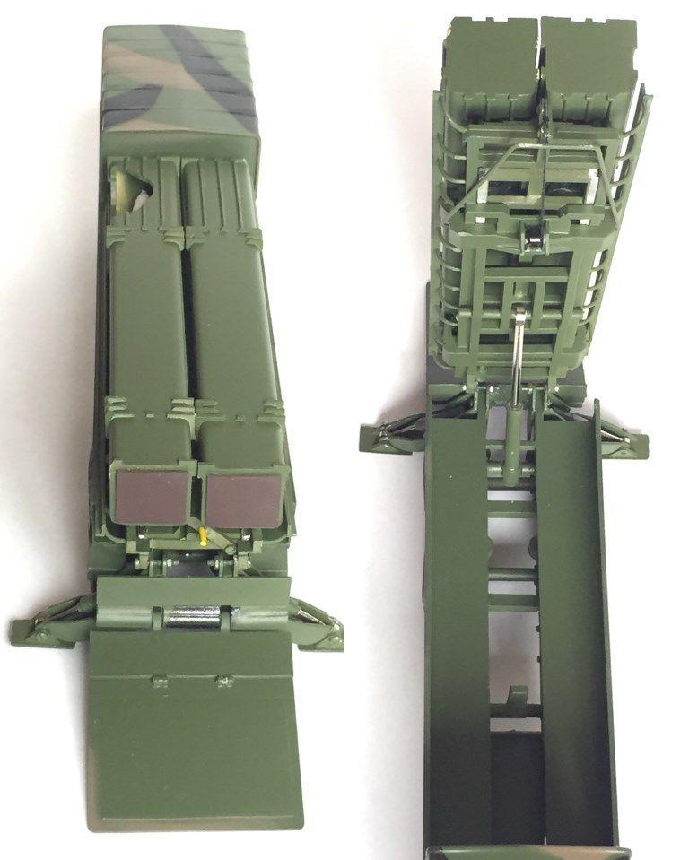 Renault R390 et remorque Lohr érectile lance-missile HADES au 1/50 (par J. Hadacek) MAJ 6/04/19