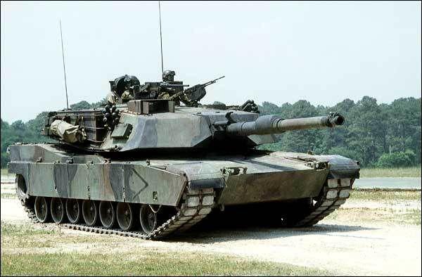 Char US Abrams M1A1 au 1:43 (Yvs Models)