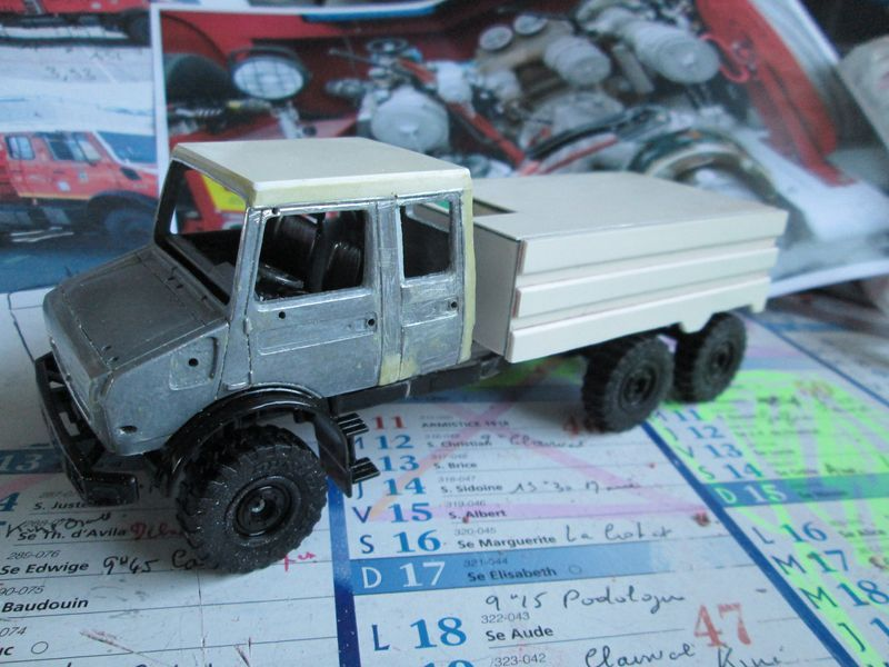 BMPM : Mercedes-Unimog CCF Lourd 7000 litres (par Daniel BALDJIAN)