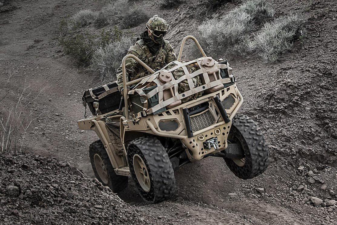 Véhicules&matériels : des quads Polaris MV850 pour le 2ème Régiment de  Hussards -