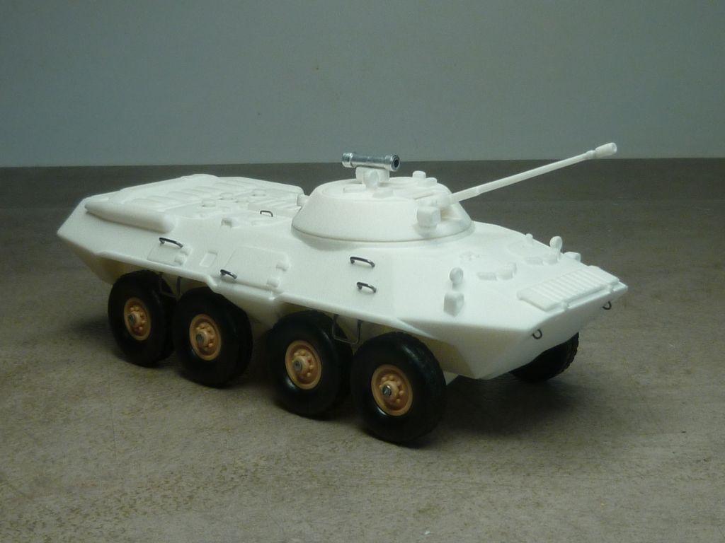 Impression 3D :  transpsort de troupes BTR90 au 1:50 (par Jean-Charles)