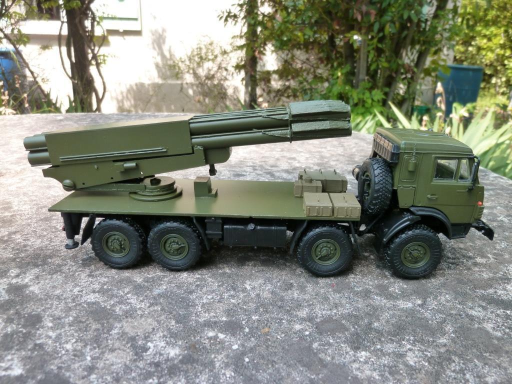 """Modif : Kamaz-63501 """"Tornado"""" au 1/43 (par Hervé C.)"""