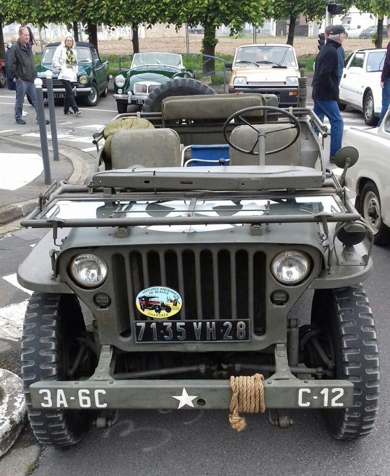 """Véhicules&matériels : Jeep Willys """"J'm'en fous"""" (par Frédéric R.) - MAJ 7  juin 2019"""
