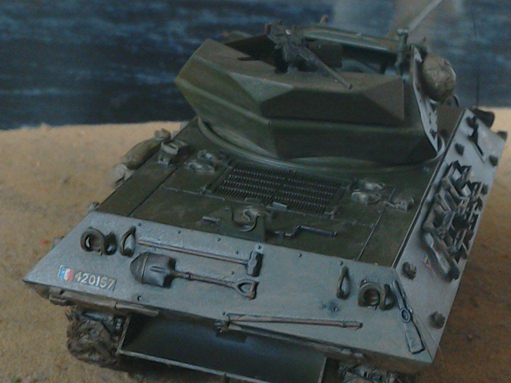 Char M10 au 1/48 de chez Tamiya (par Jean-François)