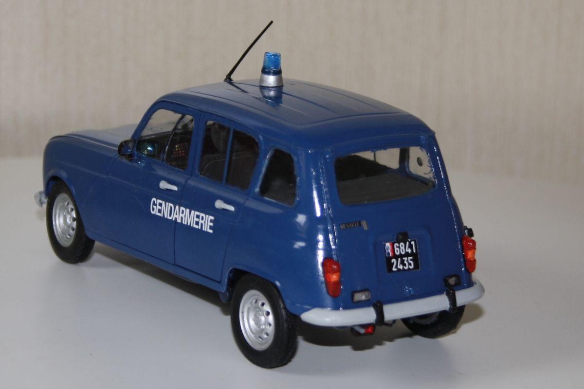 La Gendarmerie aussi, mais ça c'est pour moi !