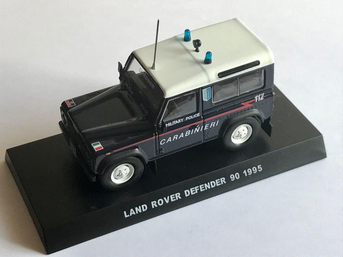 Land Rover Defender 90 SFOR au 1/43 (DeAgostini)