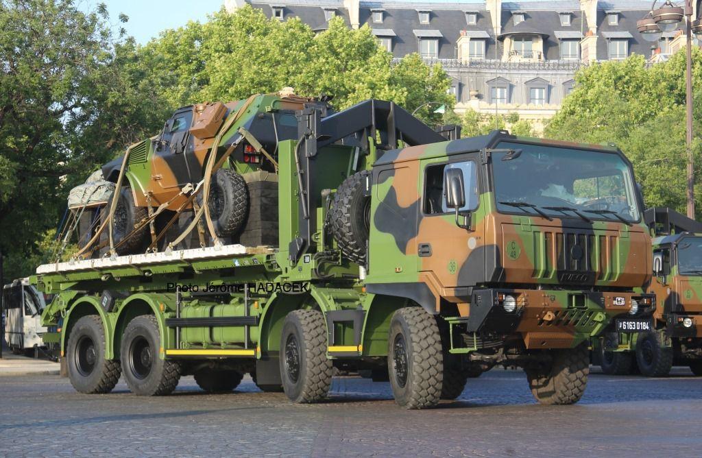 Le 14 juillet sur les Champs-Elysées et aux abords (photo Jérôme Hadacek)