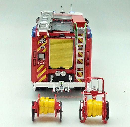 Nouveauté pompiers : Renault D16 FPT SR GIMAEX au 1/43 (Eligor)