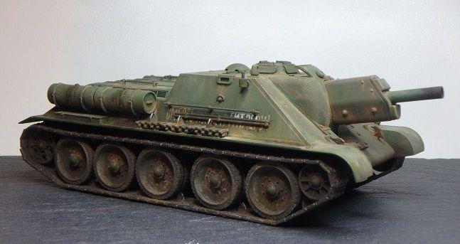 """Le SU-122 """"revu et corrigé"""" par Marc H."""