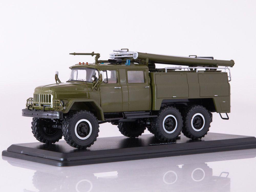 Pompiers militaires : ZIL-131 AC-40 au 1/43 (Start Scale Models)