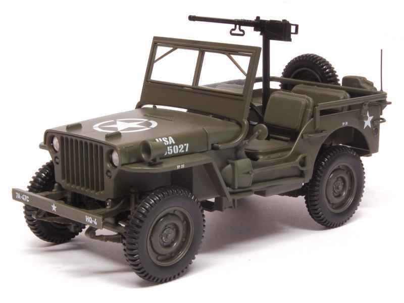 Jeep Willys au 1:18 (Norev)