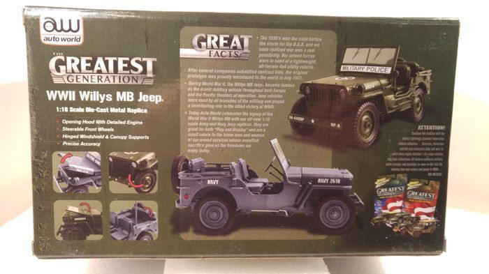 Willys MB Jeep WWII Military Police