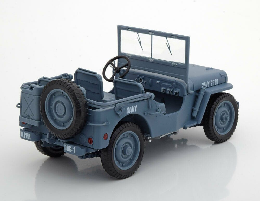 Willys MB Jeep WWII Construction Battalion 1941
