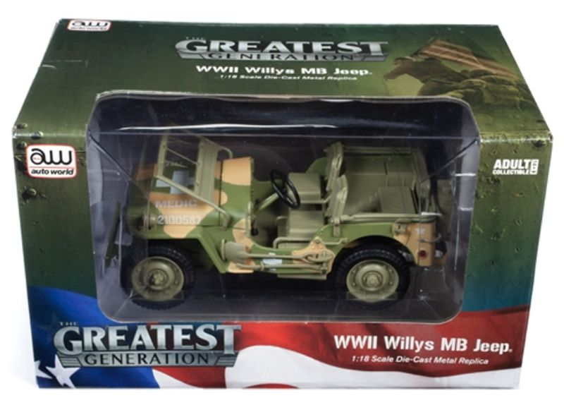 Willys MB Jeep WWII 15th Evacuation Hospital