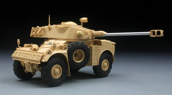 AMX-10 RC, VBL et ERC-90 Sagaie au 1/35 (Tiger Model et kit KMT)