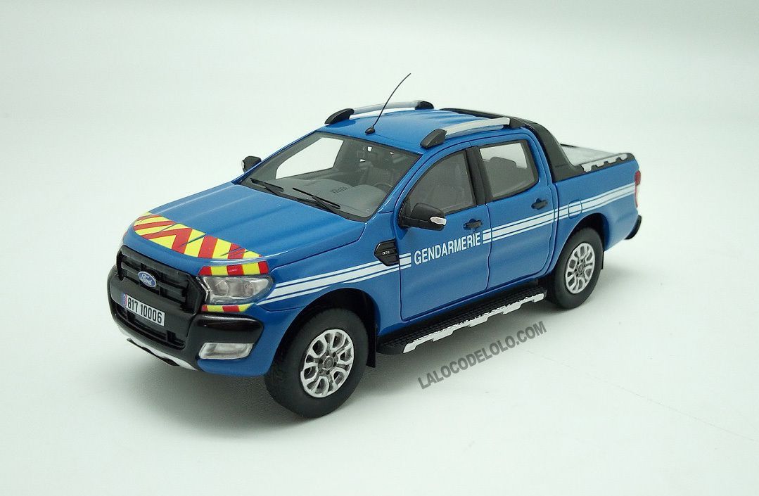 Ford Ranger pick-up Gendarmerie (ALARME 016)