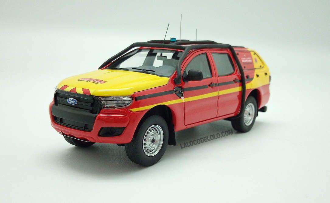 Ford Ranger des Formations militaires de la Sécurité civile (ALARME 014)