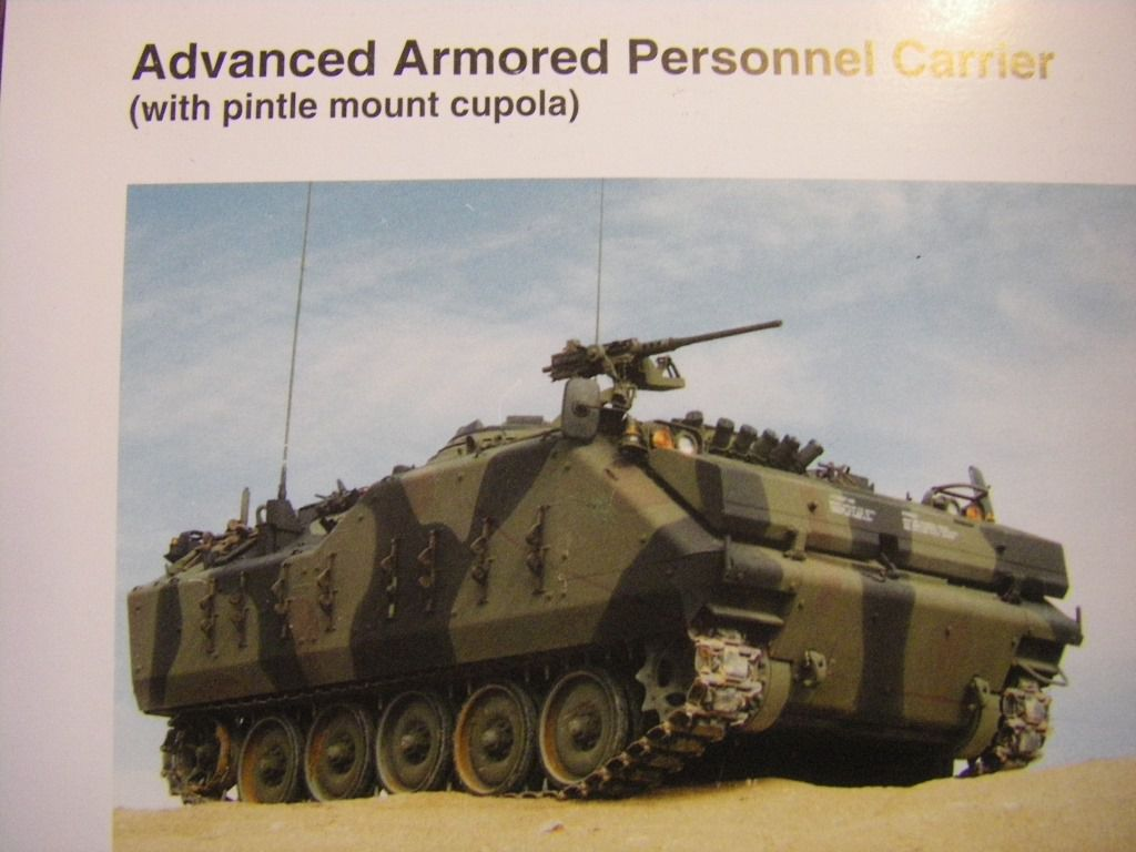 Impression 3D : l'AIFV (Armoured Infantry Fighting Vehicle)