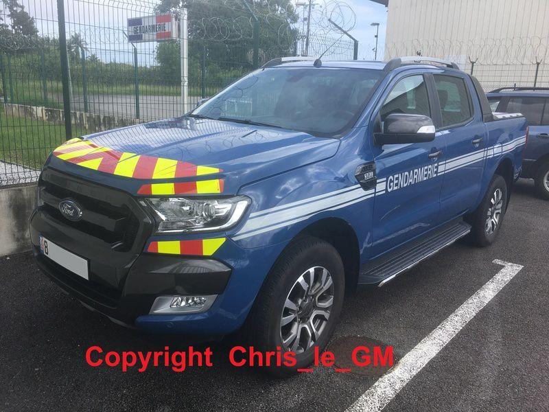 Véhicules&matériels : Ford Ranger pick-up de la Gendarmerie maritime