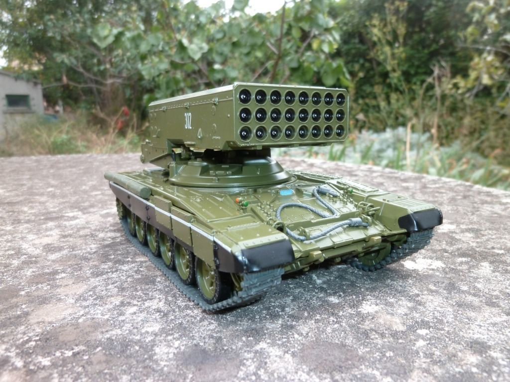 "Char T 90 TOS 1A ""Buratino"" au 1/43 (Modimio Collections)"
