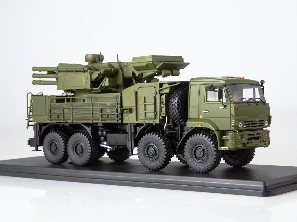 Kamaz-6560 Pantsir-S1 / SA-22 AU 1:43 (SSM)