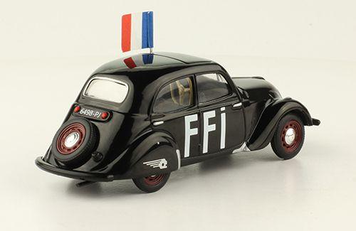 Peugeot 202 FFi au 1/43 (Odeon)