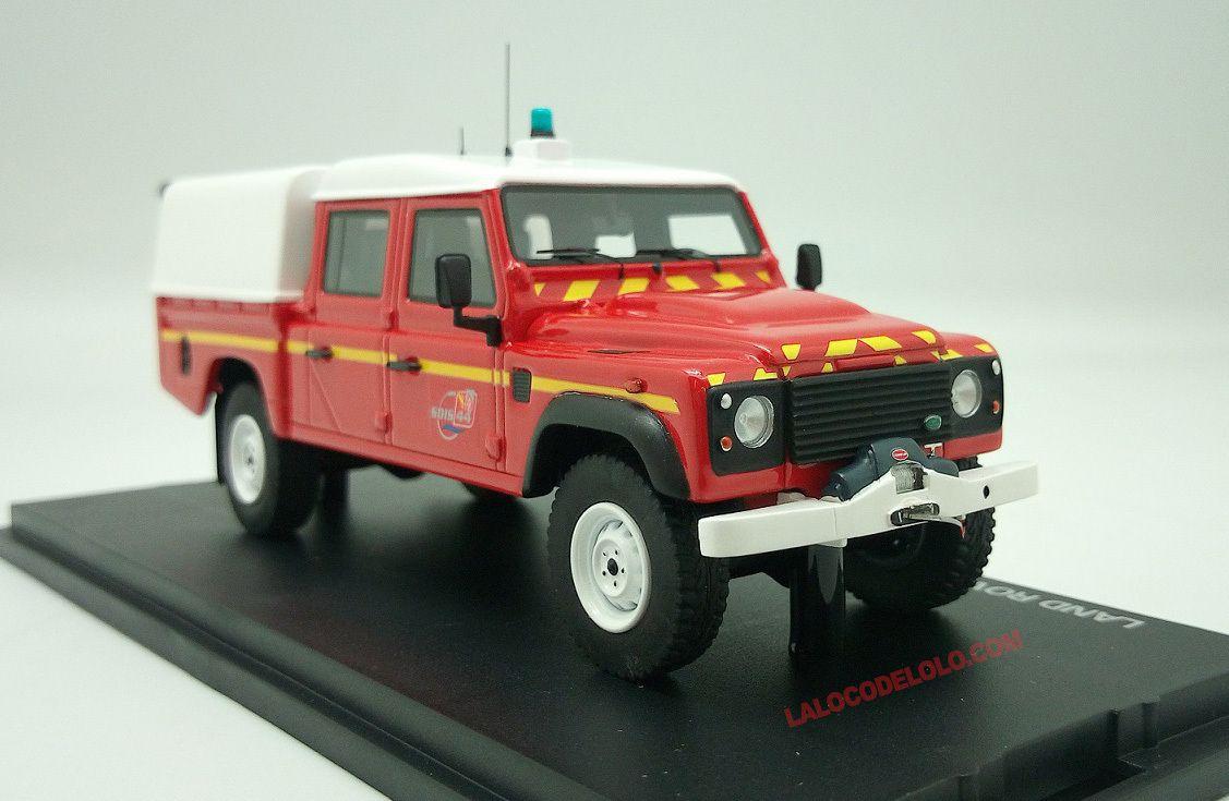 Defender 130 VLHRN Pompiers S.D.I.S. 44 + planche de décals (Alarme 0021)