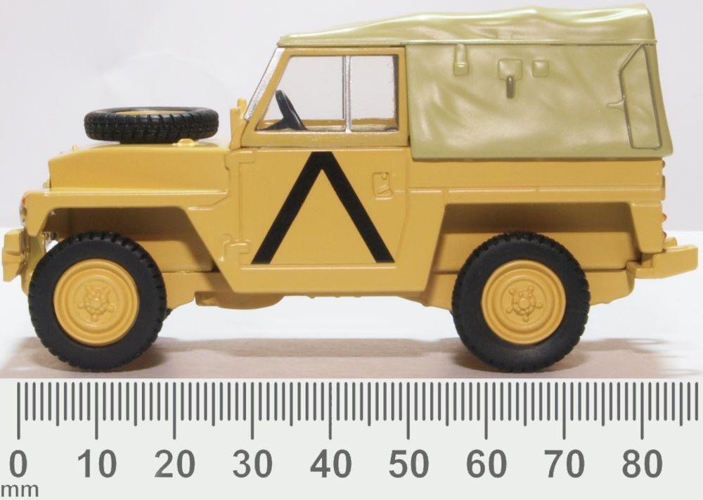 Land Rover 1/2 ton desert storm (Guerre du Golfe)