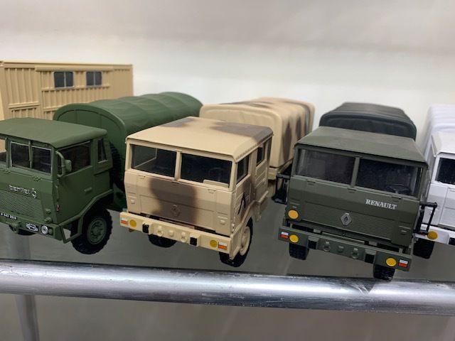 Berliet GBD, TRM 2000 et TRM 10000 au 1/43 (par Kamal)