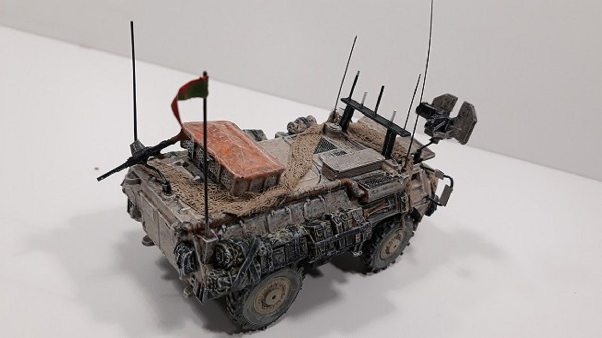 VAB 4x4 de la Légion étrangère  (base Solido - 1/50 - par Chris)