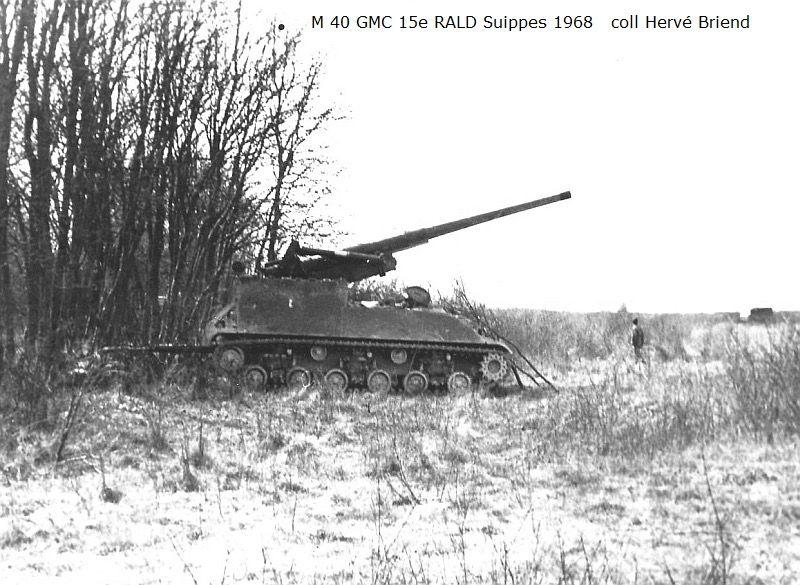 Canon automolteur M40 Armée francaise au 1/43 (par Pierre C.)