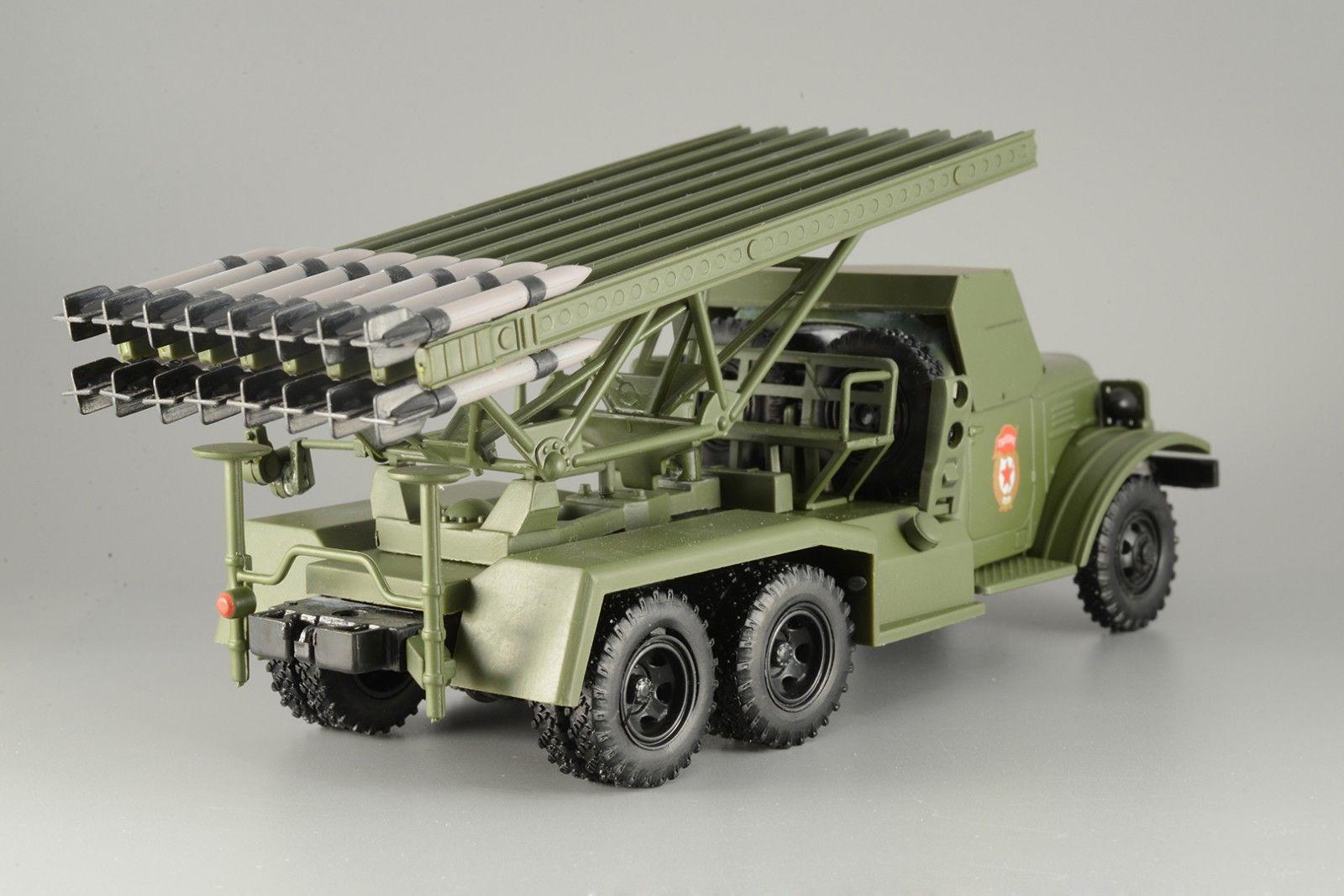 ZIS-151 BM-13 Katyusha au 1/43 (collection-presse)