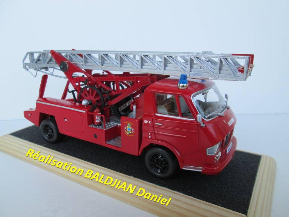 Les Marins-pompiers de Marseille à grande échelle... (par Daniel Baldjian)