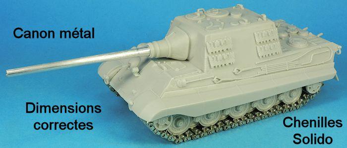King Tiger et JagdTiger au 1/48 (Gaso.Line)
