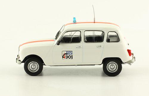 Renault 4 de la Gendarmerie belge au 1/43 (Hachette)