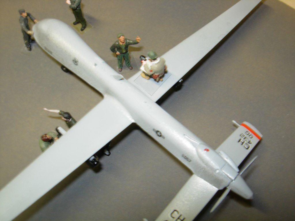 Drone Pradator MQ-1 au 1:48 (par Bob)