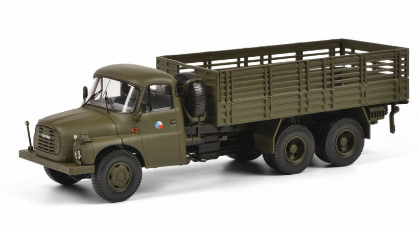 Tatra T148 militaires au 1/43 (Schuco)