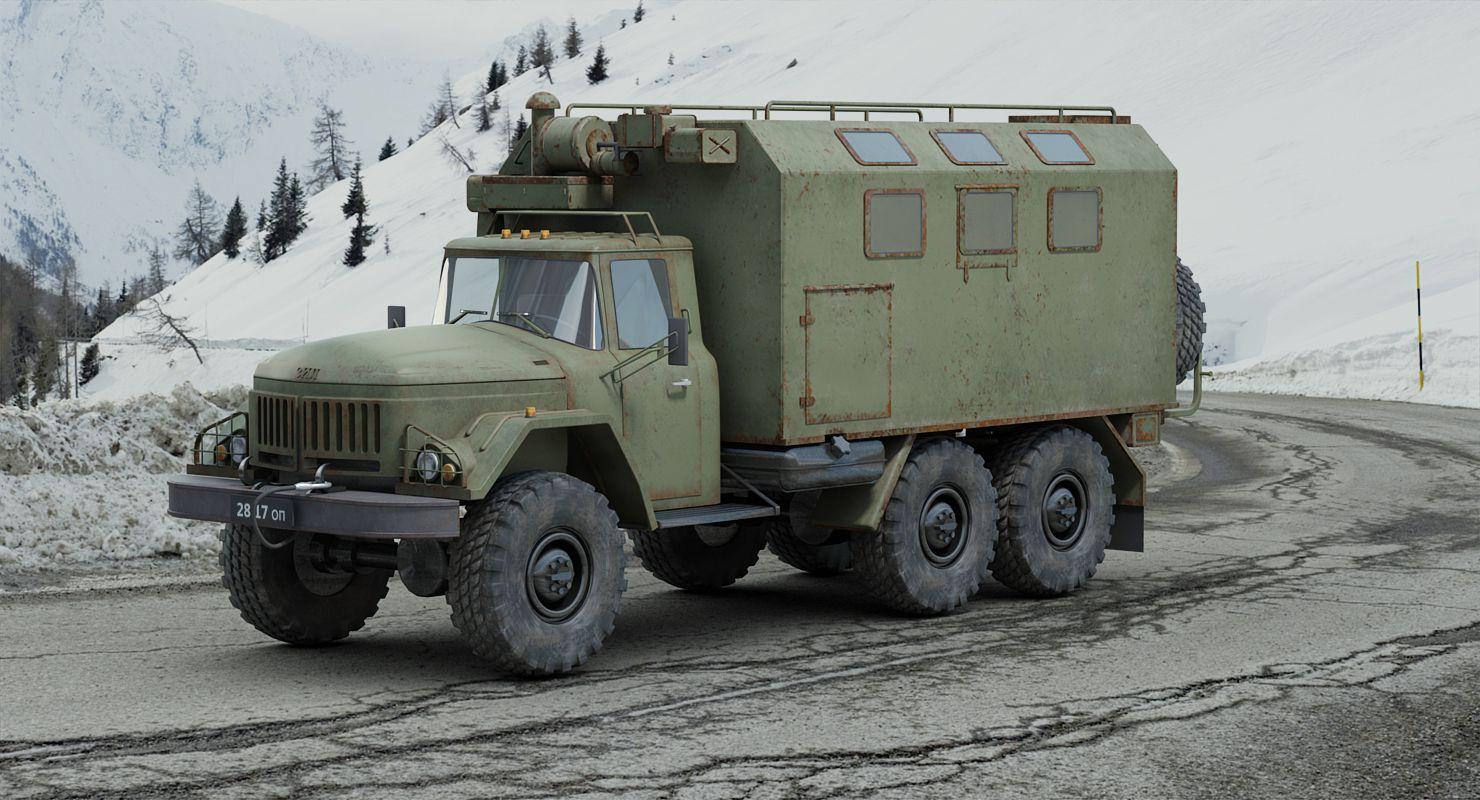 Zil-131 shelter sanitaire au 1/43 (par Hervé C.)