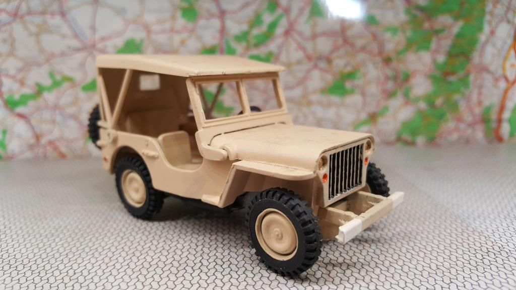 Jeep Hotchkiss M 201 version sable