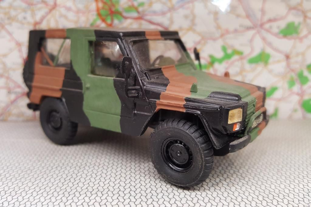 Peugeot P4 camouflage Centre Europe