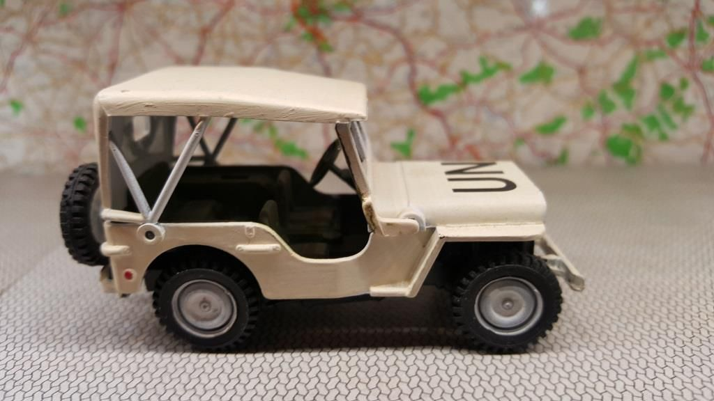 Jeep Hotchkiss M 201 version U.N. 3