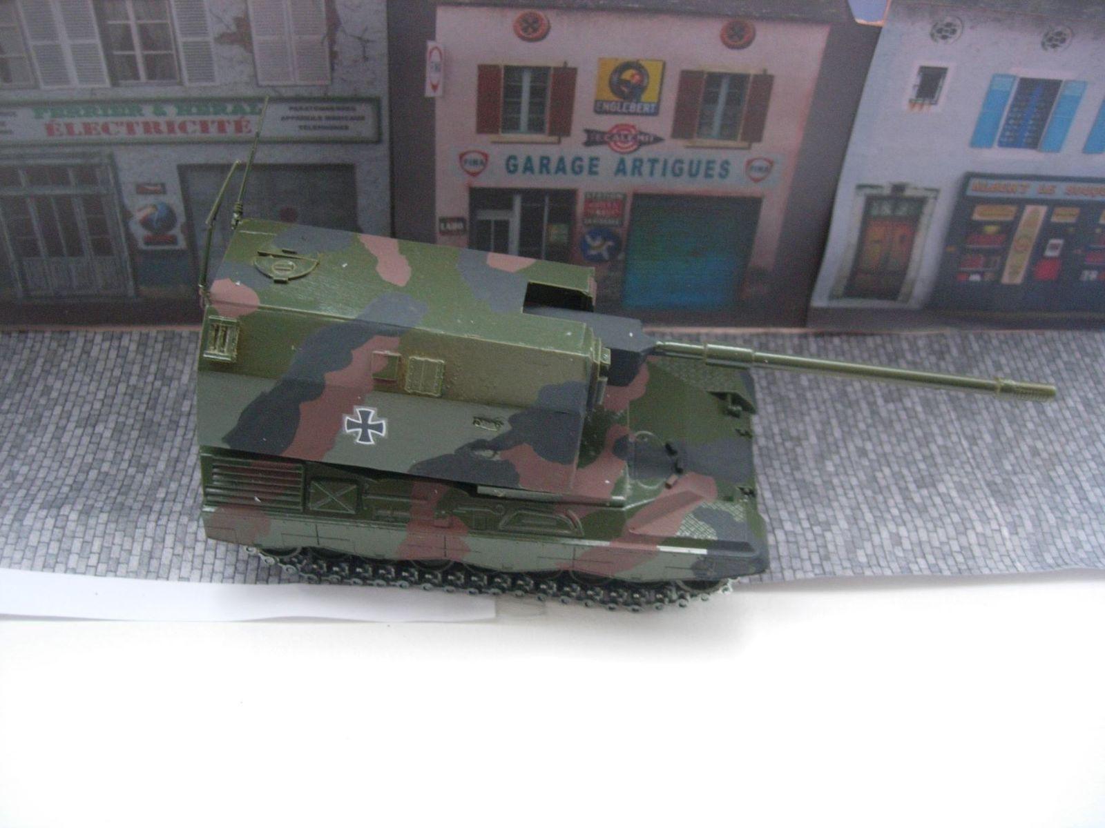 Vos vitrines : les matériels de la Bundeswehr (diverses marques et échelles - par Bob)