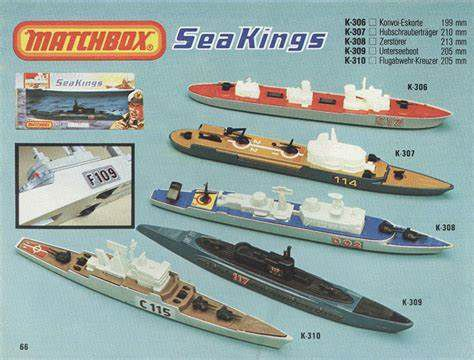 Matchbox Seakings (par Stan Gries)