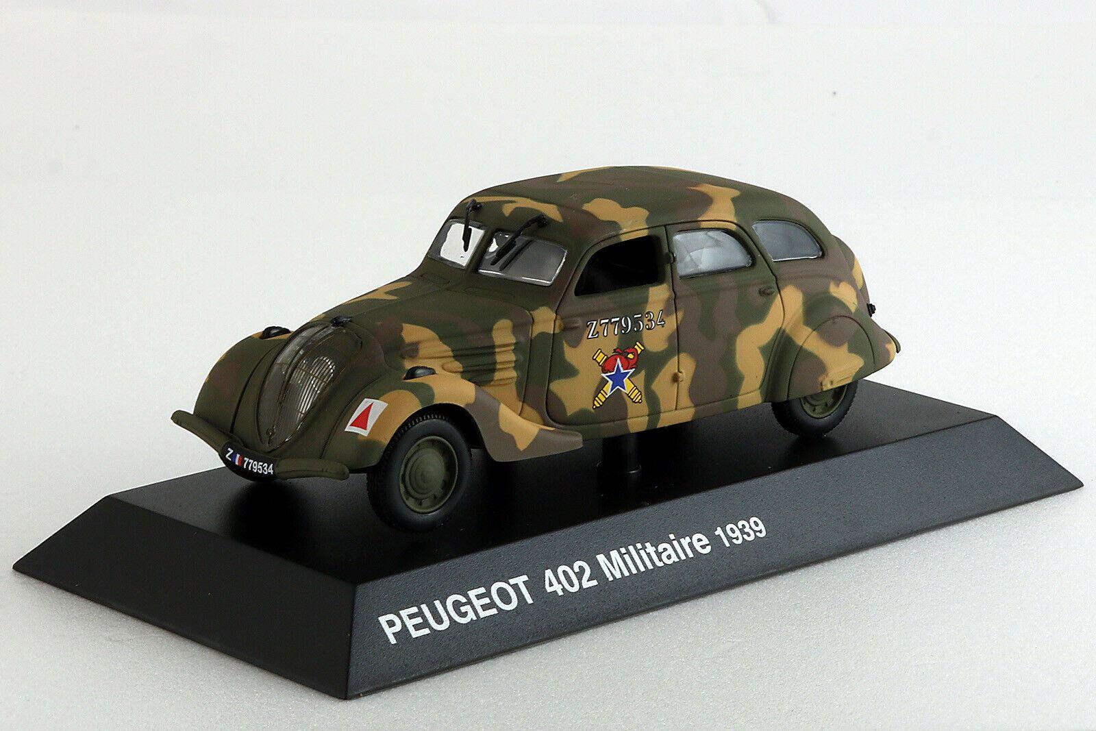 PEUGEOT 402 B - 1/43 - Hachette - Collection Peugeot