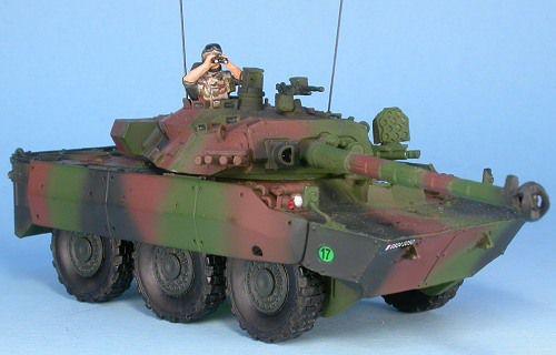 MF48511 : AMX 10RCR  trois tons Centre-Europe